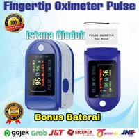 Fingertip Pulse Oximeter Oxymeter Alat Pengukur Detak Jantung