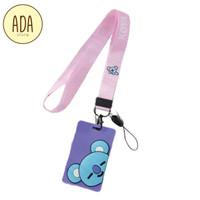 [BT21] Gantungan ID CARD BT21 | High Quality Name Tag Holder BT21 BTS - Koya