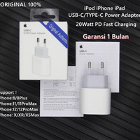 TYPE-C 20W -APPLE ADAPTER FAST CHARGER IPHONE 11 12 IPAD ORIGINAL 10
