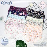 Celana Dalam Wanita Tanpa Jahitan Seamless Sorex 31186 Extra Size