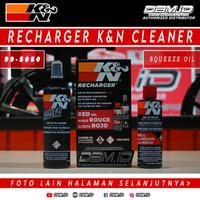 Cairan pembersih pelumas filter K&N KN cleaner recharger kit 99-5050