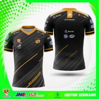 Kaos Baju Jersey Gaming RRQ 2020 ML Terbaru Custom Nama Fullprint