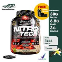 Whey Protein Nitrotech 4LBS Muscletech (Vanilla)