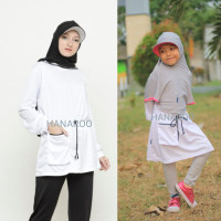 Aleena Shirt Atasan Tunik Drifit Olahraga Dewasa dan Anak