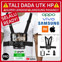 ✅ CHEST BELT STRAP TALI DADA HP HANDPHONE PHONE BREKET MOUNT YOUTUBE