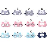 Penutup Mata Untuk Tidur + Free Ice Gel / Kacamata Tidur Sleep Mask - Motif A
