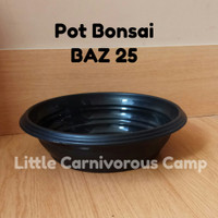 Pot Bonsai Azalea 25 Hitam - BAZ 25