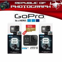 GOPRO HERO 8 BLACK / GOPRO HERO 8 BLACK- GARANSI DISTRIBUTOR - BASIC NON FREE