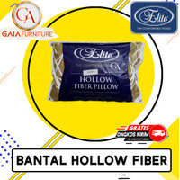 Bantal kepala Bantal elite hollow fiber elite ORIGINAL Bantal Silicon