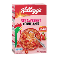 KELLOGGS Corn Flakes Fruit Strawberry 180g Cornflakes Flake Stroberi