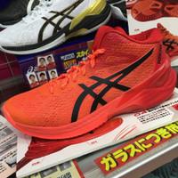 Sepatu Voli Voly Volley Asics Sky Elite FF MT Tokyo Sunrise Red ORI