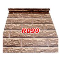 R99 Wallpaper Sticker Batu - wallpaper dinding