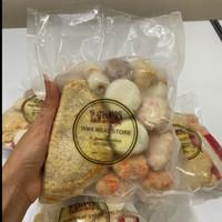 Aneka Bakso Seafood Shabu - Shabu / Paket Hotpot / Steambot 500grm