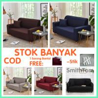 Original Cover Sofa Import Anti Selip Sarung Sofa Warna Seater 1 2 3 4