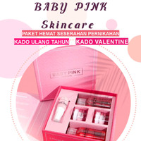 Baby Pink Skincare Paket Seserahan Pernikahan Kado Ulang Tahun Anniv