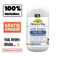 Nature's Natures Nature Way Kid Kids Smart DHA 300 mg 300mg 50 Caps