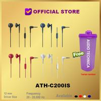 Audio Technica ATH-C200iS In-ear Headphones Earphone C200 IS C200IS