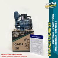 POMPA AIR RUMAH / MESIN PENDORONG AIR / NATIONAL KING GP125 / GP 125