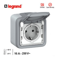 Stop Kontak Anti Air (Waterproof) Plexo IP55 Legrand
