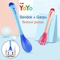 Sendok Bayi / Sendok Bayi Sensor panas / Sendok bayi Silicon