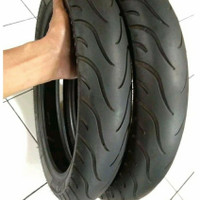 Ban second Michelin Tubless sepasang ring 14 all matic