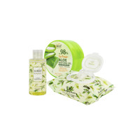 [BIG SALE 3pcs]Aloe Vera Soothing Gel+Cleansing Tissue+Lip&Eye Makeup
