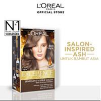 L'Oreal Paris Excellence Fashion hair color 9.11- moderate ash