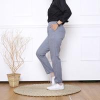 Celana panjang wanita etnik pants - Biru