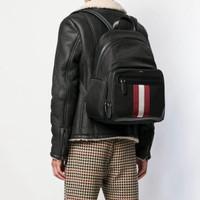 Original Bally Chapmay Techno Nylon Backpack in Black