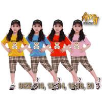 Amj setelan anak perempuan/baju setelan anak perempuan anak010