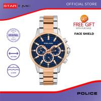 Jam Tangan Police Jam Tangan Pria PL.15535JSTR/03M Original