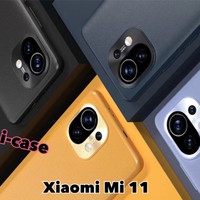Soft Case Mi 11 Ofiicial Color Premium Casing Leather Xiaomi mi11
