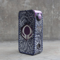 Grey Batik Leather Case Sleeve Hexohm V3 Cut Logo Kulit Asli