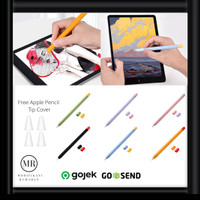 Apple Pencil Case Cover Soft Silicone Gen 1 Gen 2 iPad Pro Air