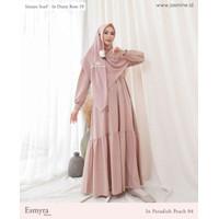 gamis syari esmyra dress muslim wanita jasmine by lidia hawidinoto