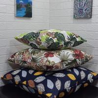 Sarung Bantal Sofa Besar 50x50, 60x60, 70x70 Kanvas, Bantal lantai