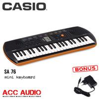 Keyboard Mini CASIO SA-76 / SA76 + adaptor