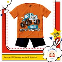 Baju anak laki-laki / Kaos anak laki-laki motif Car Off-Road