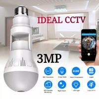 SPY CAM,HIDDEN CAMERA,IP KAMERA WIFI MODEL LAMPU FULL HD 3MP FLEXIBEL
