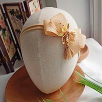 Amore headband nylon bandana bando hairclip jepit imlek cny bayi anak