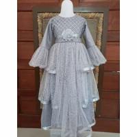BAJU PESTA ANAK PEREMPUAN MUSLIMAH Dress anak gaun pesta anak muslim g