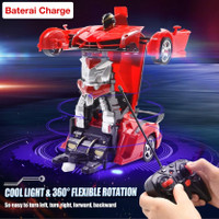 MAINAN RC MOBIL ROBOT TRANSFORMER THE LAST KNIGHT REMOTE CONTROL