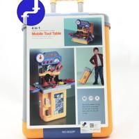 Mainan anak Mobile Tools Koper alat Tukang