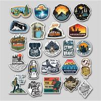Stiker Adventure Outdoor/Stiker helm/Motor/ laptop/Smartphone