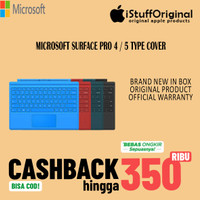 TYPE COVER MICROSOFT SURFACE PRO 4 / 5 ( KEYBOARD )