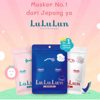 [BPOM] LULULUN 7 Days Face Mask | Lululun Masker isi 7 Sheet