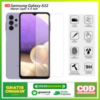 Tempered Glass Samsung Galaxy A32 Premium Anti Gores Kaca Clear