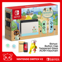 Nintendo Switch Animal Crossing Console Limited Edition HAC-001-01 V2