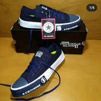 Sepatu Converse Chuck taylor underfeated - navy, 38