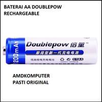 batere Baterai AA recharge able 1 Pcs 1200Mah